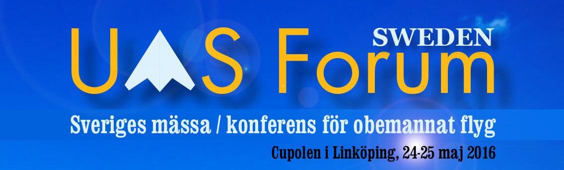 UAS Forum 24-25 maj 2016, Cupolen i Linköping