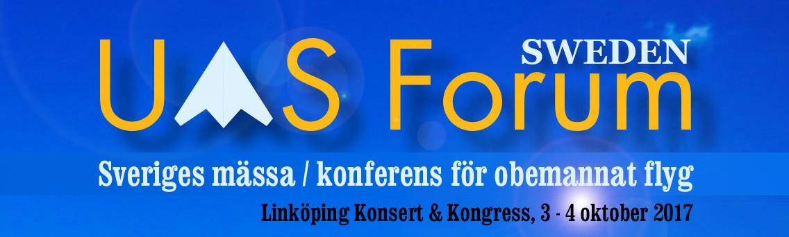 UAS Forum 3-4 oktober 2017, Linköping Konsert  Kongress